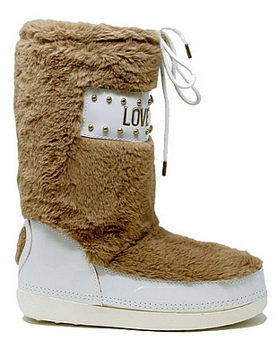 Love Moschino JA24062G06JS Snow Boot ardesia bianco