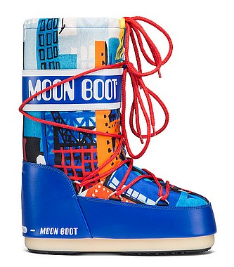 Tecnica® Moon Boot JR Industrial blau rot