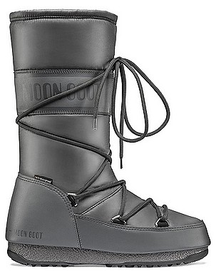 Moon Boot® Moonboot High Nylon WP castlerock grau