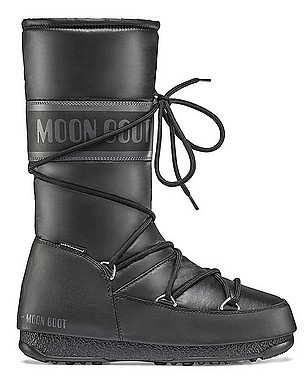Moon Boot® Moonboot High Nylon WP schwarz