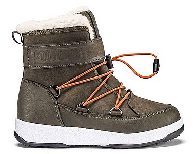 Moon Boot® Moonboot JR Boy Boot WP olive night orange