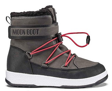 Moon Boot® Moonboot JR Boy Boot WP schwarz castelrock