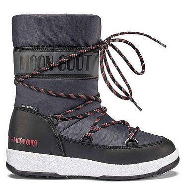 Moon Boot® Moonboot JR Boy Sport WP black castelrock