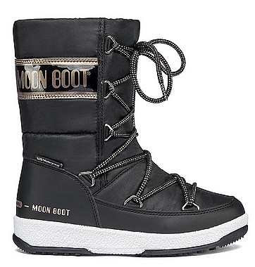 Moon Boot® Moonboot JR G Quilted WP schwarz copper