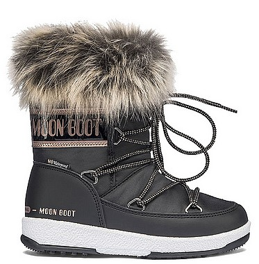 Moon Boot® Moonboot JR Girl Monaco L schwarz copper