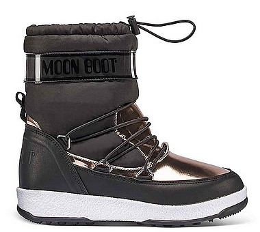 Moon Boot® Moonboot JR Girl Soft WP nero rame