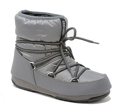 Moon Boot® Moonboot Low Nylon WP castle rock grigio