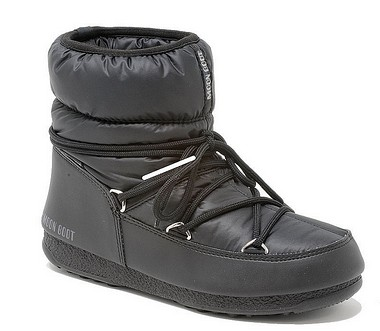Moon Boot® Moonboot Low Nylon WP schwarz