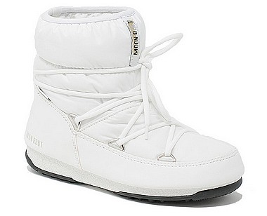 Moon Boot® Moonboot Low Nylon WP weiss