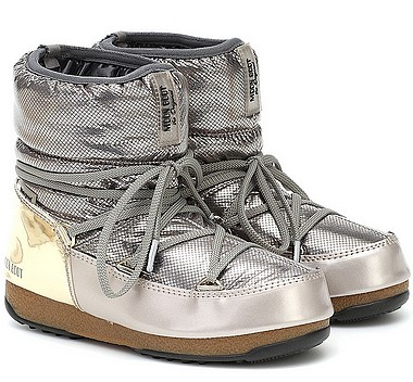 Moon Boot® Moonboot Low St Moritz WP platinum