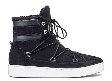 Moon Boot® Moon Boot Mercury High Paris blu navy