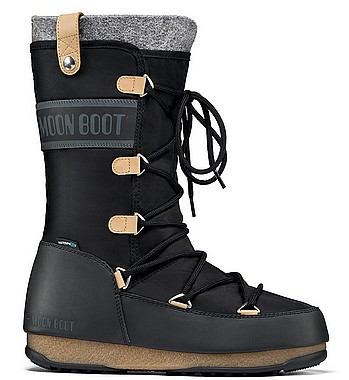 Moon Boot® Moonboot WE Monaco Felt W schwarz