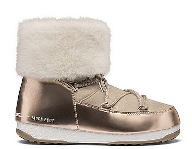 Moon Boot® Moonboot WE Rose Mirror rosa gold