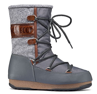 Moon Boot® Moonboot WE Vienna Felt grey brown