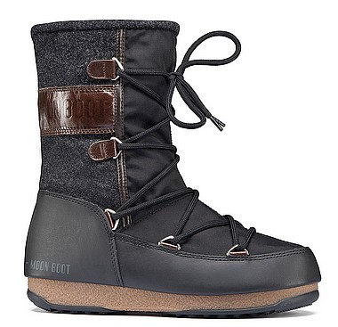 Moon Boot® Moonboot Vienna Felt black darkbrown