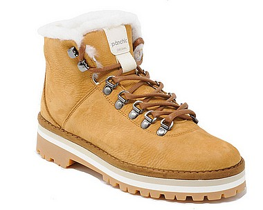 Panchic P09 Hiking Boot Shearling caramello