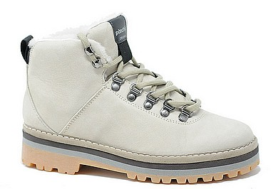 Panchic P09 Hiking Boot Shearling earth bianco