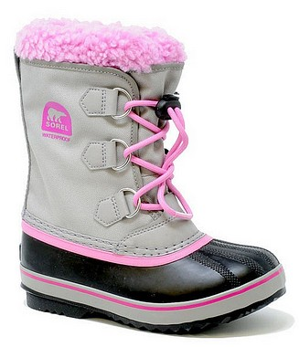 Sorel Children Youth Pac Nylon chrome grey orchid
