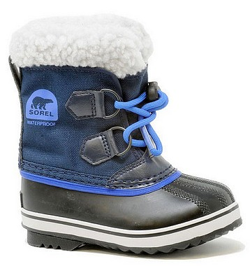 Sorel Children Youth Pac Nylon collegiate navy super blue