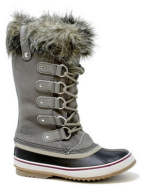 Sorel Joan of Artic grau nero