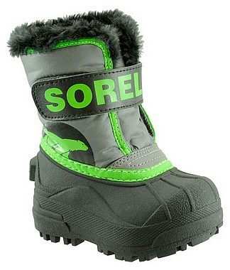 Sorel Toddlers Snow Commander querry cyber green