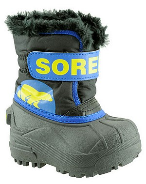 Sorel Toddlers Snow Commander black super blue