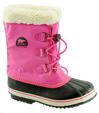 Sorel Youth Pac Nylon haute pink