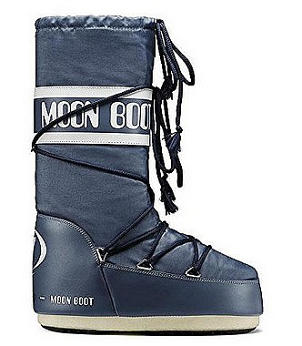 Tecnica® Moon Boot blue jeans