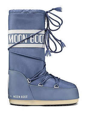 Tecnica Moon Boot stone wash blau