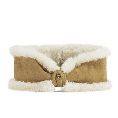 UGG® Bow Headband chestnut