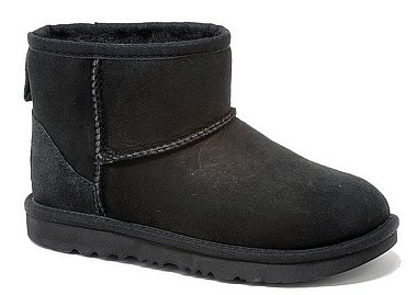 UGG® Classic Mini Junior nero