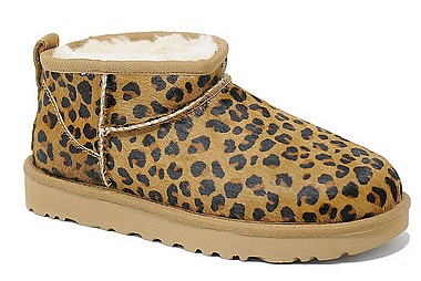 UGG® Classic Ultra Mini leopard natural